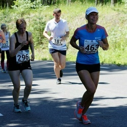 34. jooks ümber Pühajärve - Liina Vulla (296), Liina Kakk (463)
