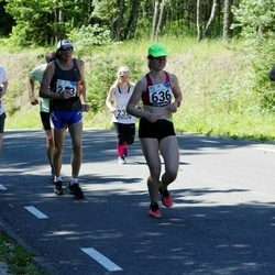34. jooks ümber Pühajärve - Anatoli Umnov (187), Kertu Rauk (636)