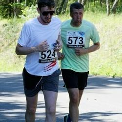 34. jooks ümber Pühajärve - Anti Laas (524), Jüri Metsaorg (573)