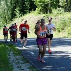 34. jooks ümber Pühajärve - Evelin Kose (185)