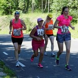 34. jooks ümber Pühajärve - Linda Vooremäe (248), Jaanika Parts (310), Piret Laak (789)