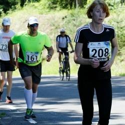34. jooks ümber Pühajärve - Karin Jesse (208)