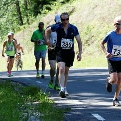 34. jooks ümber Pühajärve - Martin Mändla (380), Oskar Unn (733)