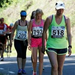 34. jooks ümber Pühajärve - Annely Kärema (518)