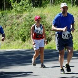 34. jooks ümber Pühajärve - Madis Maripuu (378), Andrei Lebedev (534)