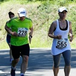 34. jooks ümber Pühajärve - Priit Orasson (228), Helen Margus (565)