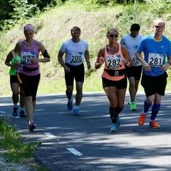 34. jooks ümber Pühajärve - Viljo Pettinen (200), Janno Rebane (281), Anneli Aidla (282)