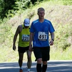 34. jooks ümber Pühajärve - Tauno Krull (497)
