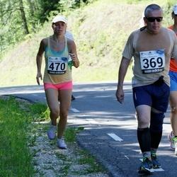 34. jooks ümber Pühajärve - Heino Lahe (369), Annely Kalmus (470)