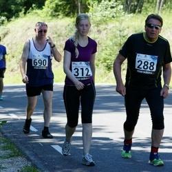34. jooks ümber Pühajärve - Tarmo Leek (288), Annika Loorits (312)