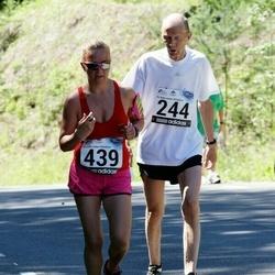 34. jooks ümber Pühajärve - Andres Alajaan (244), Tiina Hirv (439)
