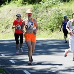 34. jooks ümber Pühajärve - Heleen Maibak (287), Maarika Kelder (298)