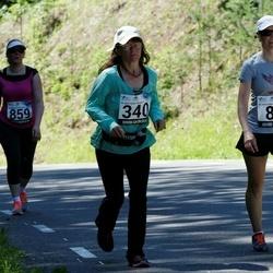 34. jooks ümber Pühajärve - Ela Vulla (86), Maaja Zolk (340)