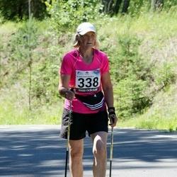 34. jooks ümber Pühajärve - Erika Reimann (338)