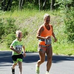 34. jooks ümber Pühajärve - Stever Juhandi (833), Lea Niinepuu (835)