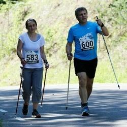34. jooks ümber Pühajärve - Kristiina Mänd (583), Raul Omel (600)