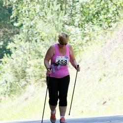34. jooks ümber Pühajärve - Anu Kruusimägi (498)
