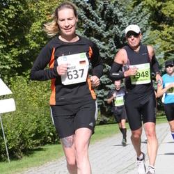 SEB Tallinna Maraton - Bianka Schwede (637), Petri Marttila (1948)