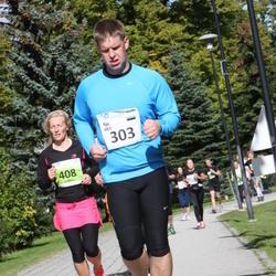 SEB Tallinna Maraton - Agu Vilu (303), Ly Märss (408)