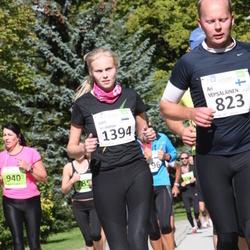SEB Tallinna Maraton - Ari Vepsäläinen (823), Aire Veskimäe (1394)