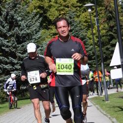 SEB Tallinna Maraton - Markus Karjalainen (874), Alexander Widmer (1040)