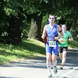 Tartu Mill Triathlon - Artur Praun (162), Tartu Mill 2 Tarmo Lausing Kristjan Linnus Sander Linnus (312)