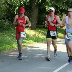 Tartu Mill Triathlon - Jevgeni Kalbin (36), Tatsiana Luksha (79), Villu Klesmann (208)