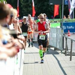 Tartu Mill Triathlon - Eddi Joost (80), Iurii Korotkov (114)