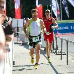 Tartu Mill Triathlon - Margus Kelk (47), Raido Kiipsaar (120)