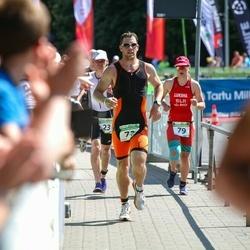 Tartu Mill Triathlon - Sulev Lokk (23), Allar Pähn (73), Tatsiana Luksha (79)
