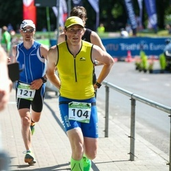 Tartu Mill Triathlon - Jorma Härmsalu (104), Kaido Tigas (121)