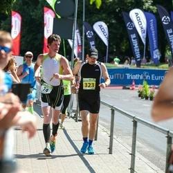 Tartu Mill Triathlon - Tarmo Kalviste (74), Vennad Ehitus Oü Karel Seli Ivar Perm Marko Perm (323)