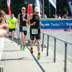 Tartu Mill Triathlon - Tambet Tõnisson (29), Ants Viirmaa (232)