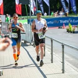 Tartu Mill Triathlon - Margus Maidla (187), Heta Tenno (230)