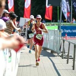 Tartu Mill Triathlon - Erkki Pikk (39), Antra Roga (166)