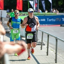 Tartu Mill Triathlon - Sandris ?ika (12), Toomas Matvejev (133)