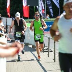 Tartu Mill Triathlon - Kristjan Timmusk (128), Juri Karjagin (144)