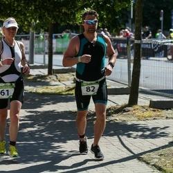 Tartu Mill Triathlon - Marika Rohtla (61), Raigo Paas (82)