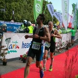 Tartu Mill Triathlon - Riho Rokk (159), Marco Sang (212)