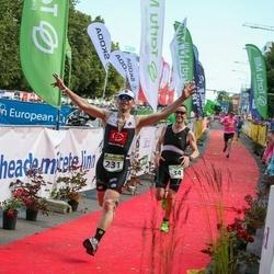 Tartu Mill Triathlon - Harri Mikk (34), Janek Vana (231)