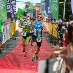 Tartu Mill Triathlon - Tarmo Torim (32), Henri Parisalu (81)