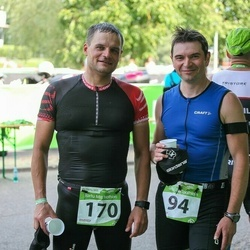 Tartu Mill Triathlon - Andrey Denisov (94), Dmitry Parygin (170)