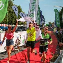 Tartu Mill Triathlon - Kauno Grudai Ii Julija Jakimovic Mindaugas Ragauskas Mantas Ciga (309)