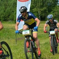 13. Raplamaa Hansgrohe Rattamaraton - Magnus Krusemann (24), Sten Saarnits (25)