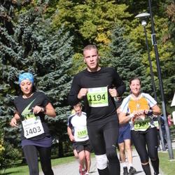 SEB Tallinna Maraton - Janar Hiio (1194), Annette Gueth (1329), Marianna Zaikova (1403)