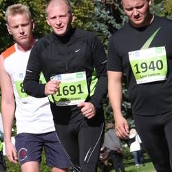 SEB Tallinna Maraton - Ago Pukspuu (1691), Lauri Lumiste (1940)