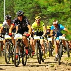 Lähte Premium7 Rattamaraton - Caspar Austa (1), Raido Kodanipork (10), Helmet Tamkõrv (16)