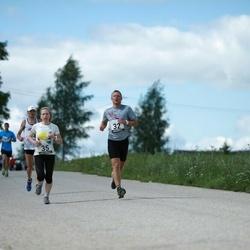 2. Suvejooks ümber Saadjärve - Urmo Kallakas (32), Annika Vaher (35)