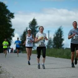 2. Suvejooks ümber Saadjärve - Urmo Kallakas (32), Annika Vaher (35), Toomas Toom (44)