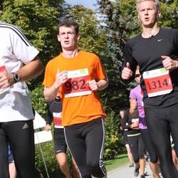 SEB Tallinna Maraton - Evgeny Andreychenko (982), Aare Aruniit (1314)